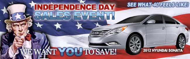 Matteson Auto Mall >> World Hyundai Chicago 4th of July Independence Day Sale in the Matteson Auto Mall