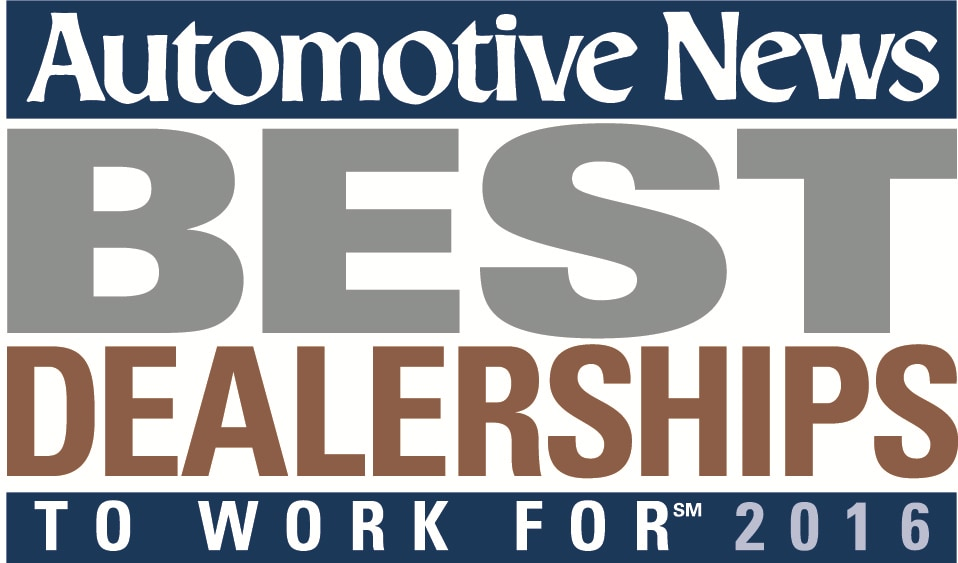 Automotive News Best Dealership to Work For 2016