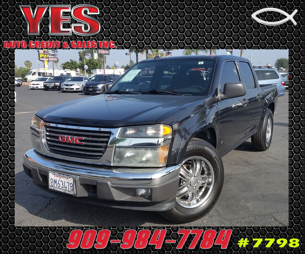 2008 GMC Canyon SLE2 MANAGER SPECIALPrice does not include tax licence fees accessories and afte
