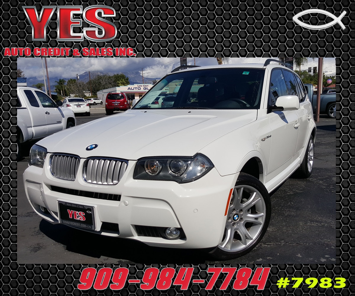 2007 BMW X3 30si INTERNET PRICE Price does not include tax license fees accessories and aft