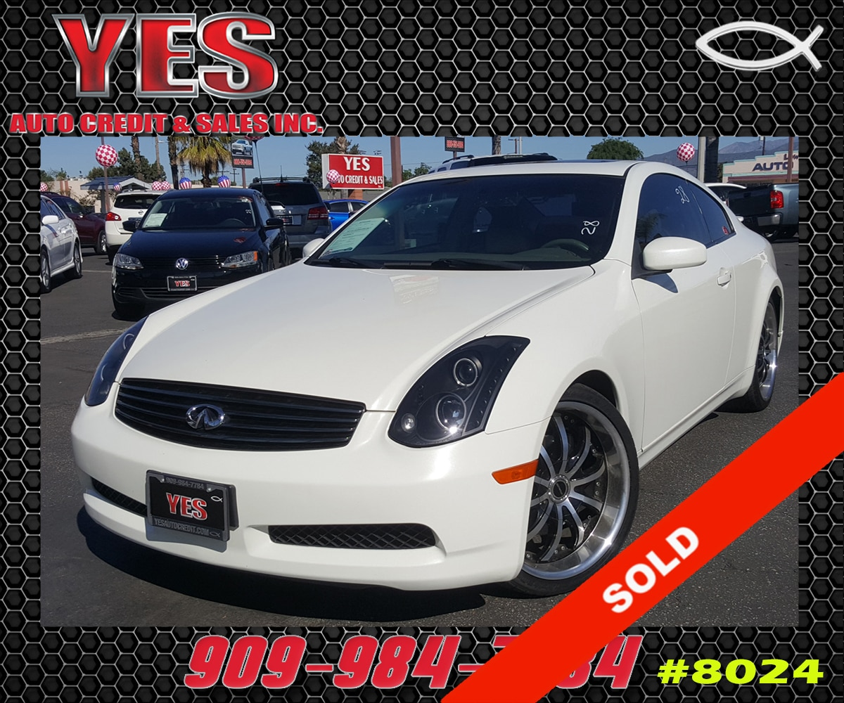 2007 Infiniti G35 Base INTERNET PRICE Price does not include tax license fees accessories an