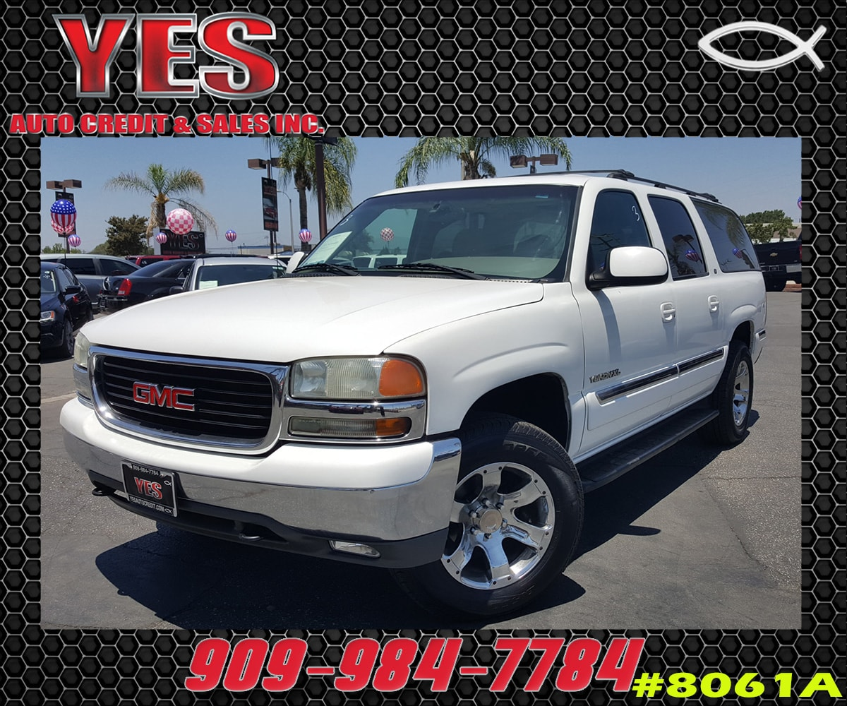 2001 GMC Yukon XL 1500 SLT INTERNET PRICE Price does not include tax license fees accessorie