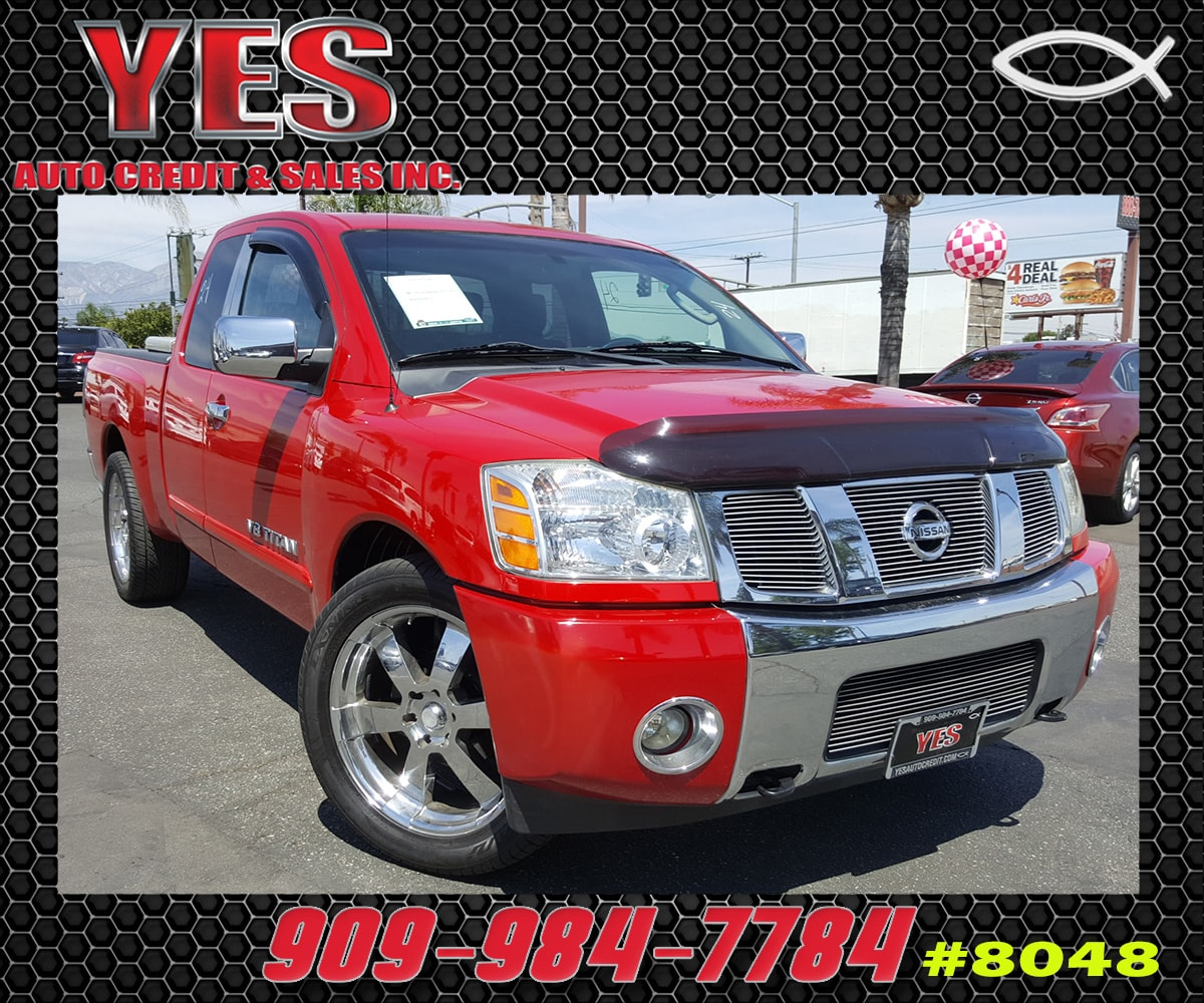 2005 Nissan Titan SE INTERNET PRICE Price does not include tax license fees accessories and