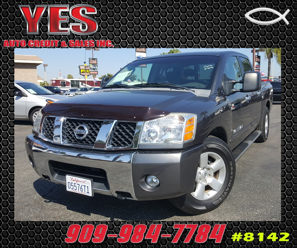 2006 Nissan Titan INTERNET PRICE Price does not include tax license fees accessories and aft