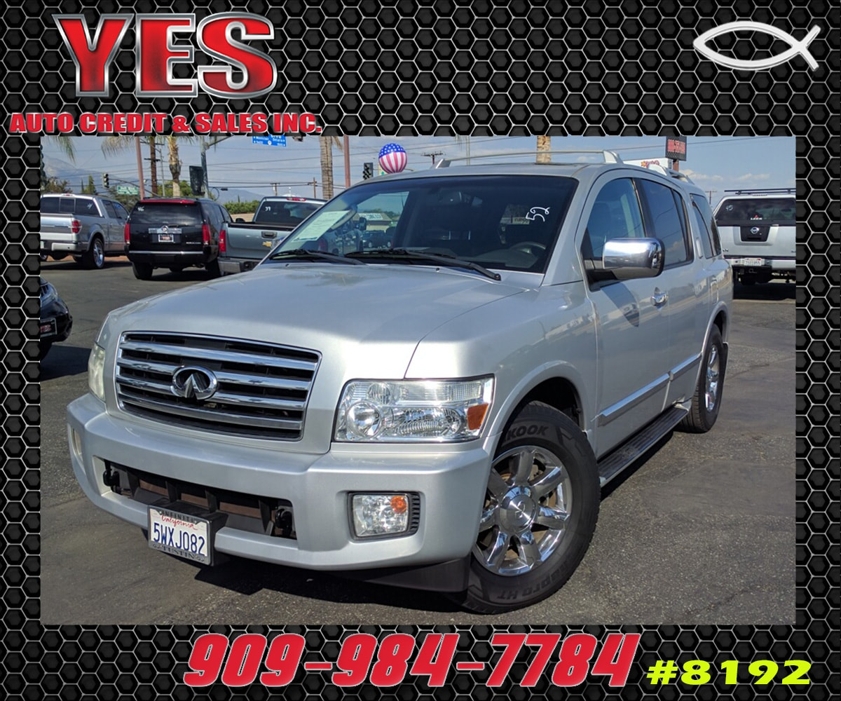 2006 Infiniti QX56 Base INTERNET PRICE Price does not include tax license fees accessories a