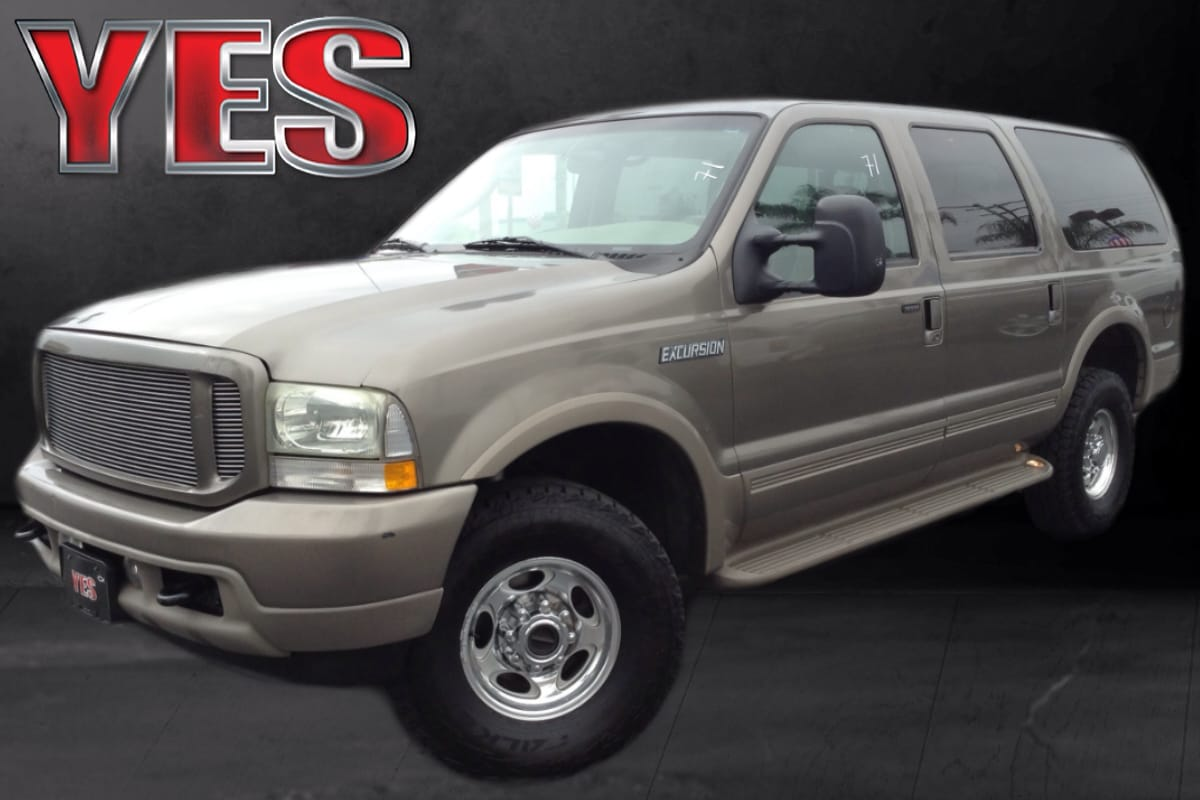 2003 Ford Excursion Eddie Bauer 68L MANAGER SPECIALPrice does not include tax licence fees acces