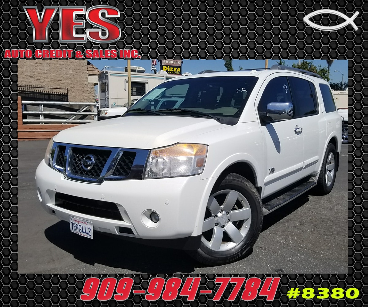 2009 Nissan Armada LE INTERNET PRICE Price does not include tax license fees accessories and
