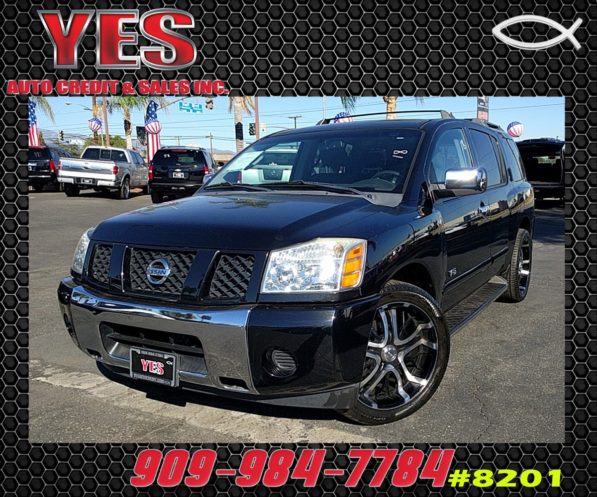 2007 Nissan Armada LE INTERNET PRICE Price does not include tax license fees accessories and