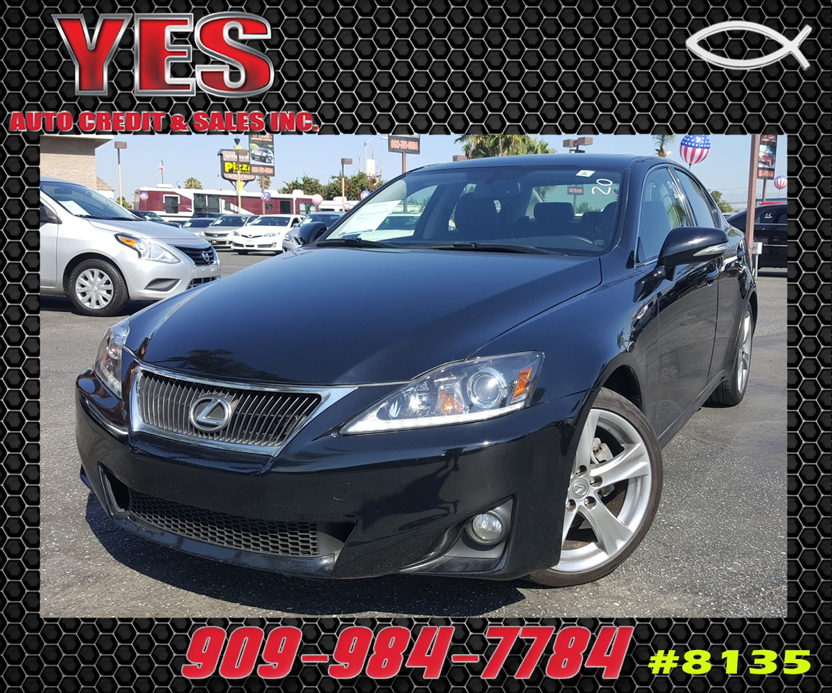2012 Lexus IS 250 RWD A6 INTERNET PRICE Price does not include tax license fees accessorie