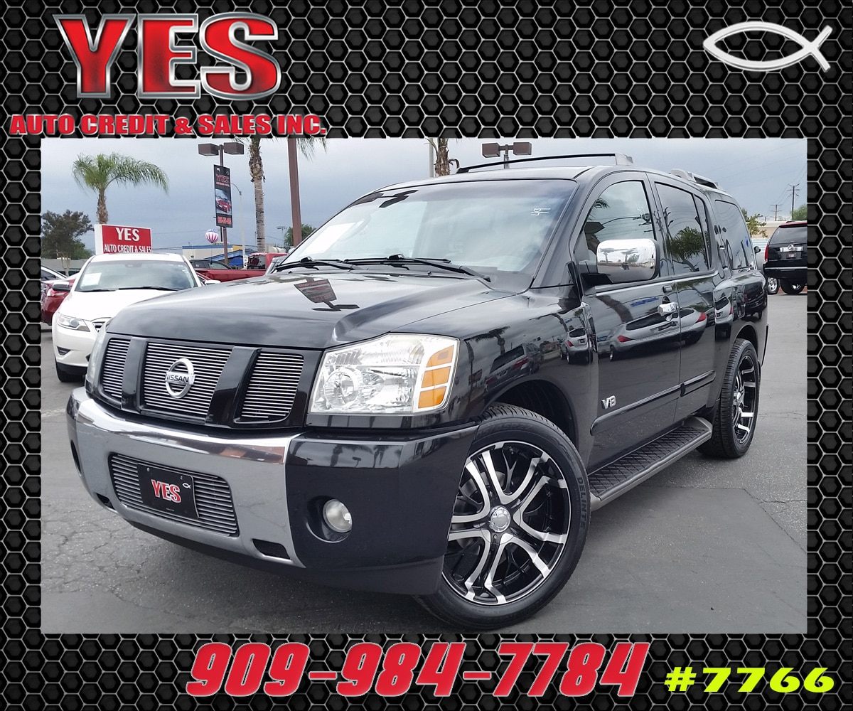2006 Nissan Armada SE MANAGER SPECIALPrice does not include tax licence fees accessories and aft