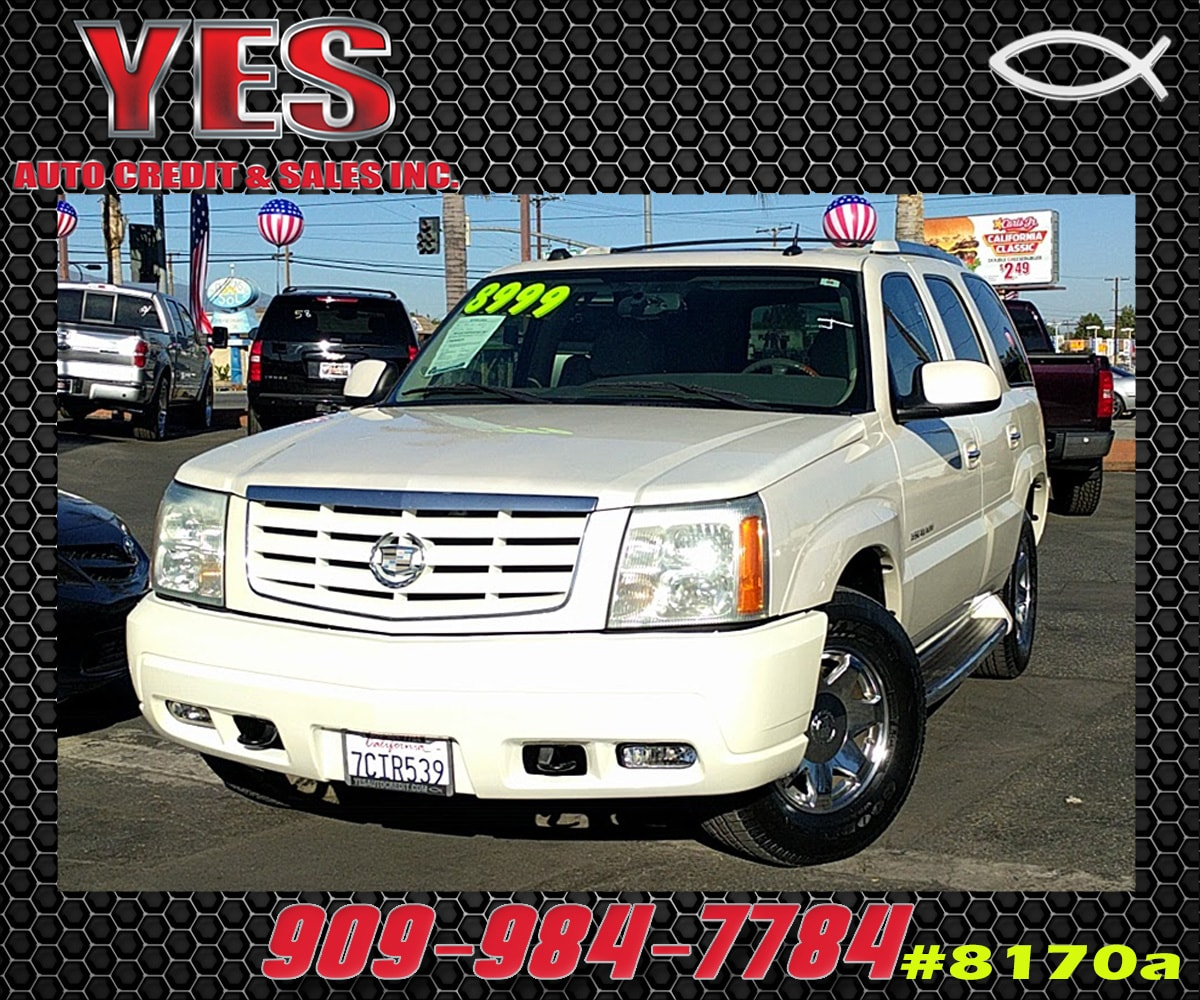 2004 CADILLAC ESCALADE Base INTERNET PRICE Price does not include tax license fees accessori