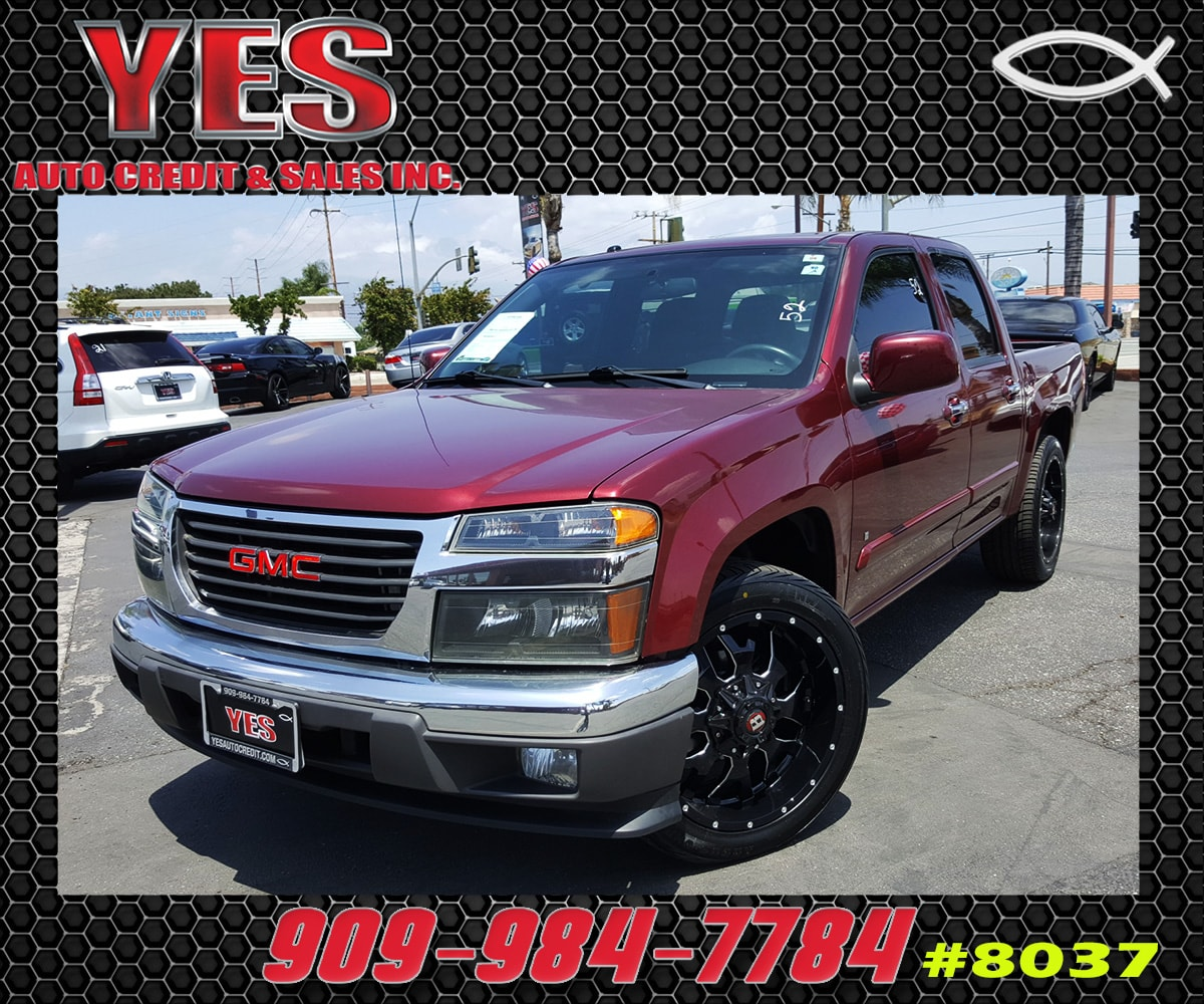 2009 GMC Canyon SLE1 INTERNET PRICE Price does not include tax license fees accessories and