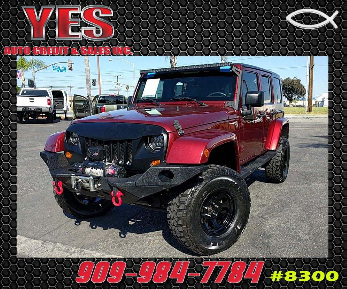 2007 Jeep Wrangler Unlimited Sahara INTERNET PRICE Price does not include tax license fees a