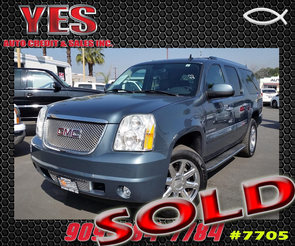 2007 GMC Yukon XL 1500 Denali MANAGER SPECIALPrice does not include tax licence fees accessories