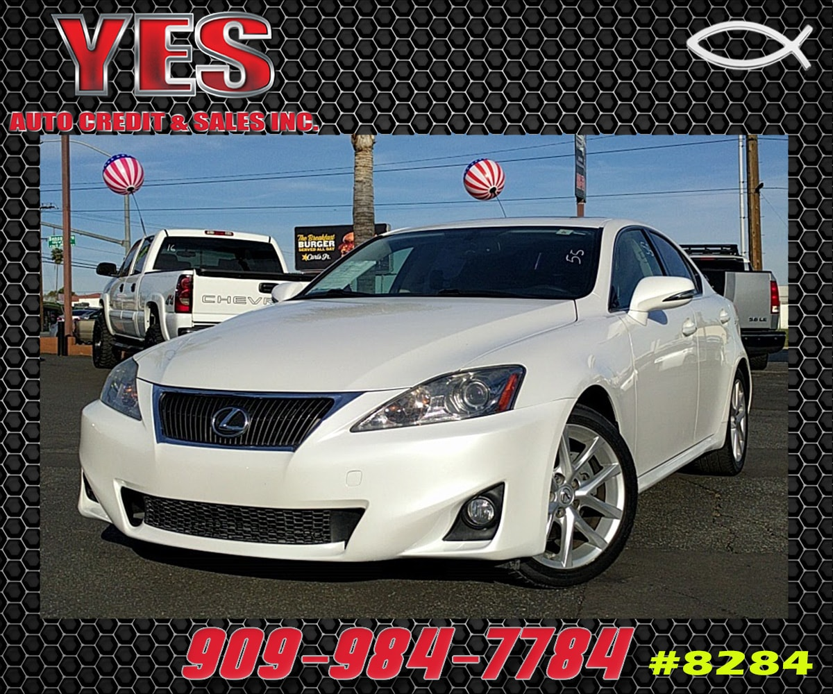2012 Lexus IS 250 RWD M6 INTERNET PRICE Price does not include tax license fees accessorie