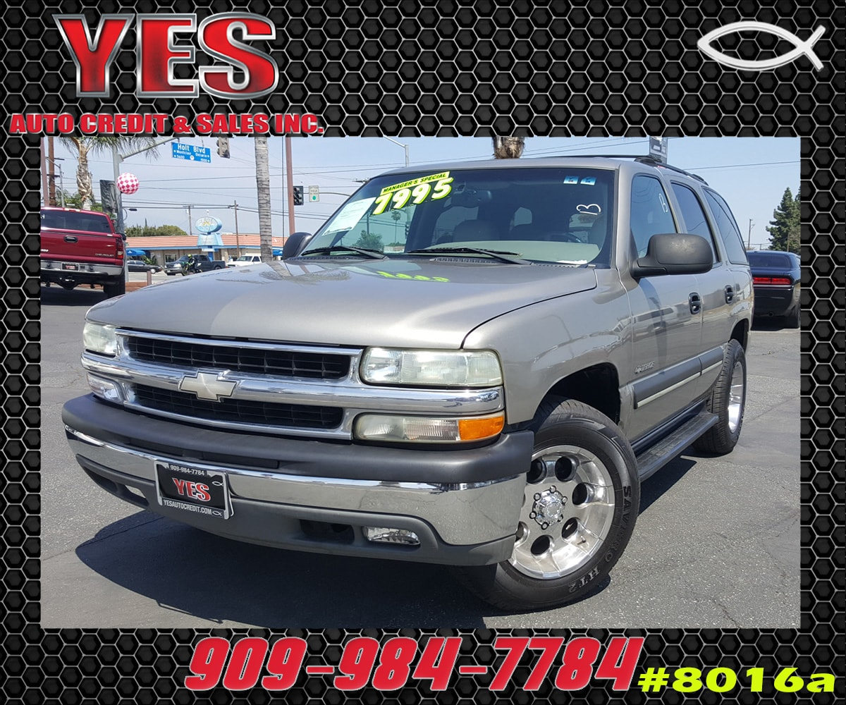 2002 Chevrolet Tahoe LT INTERNET PRICE Price does not include tax license fees accessories a