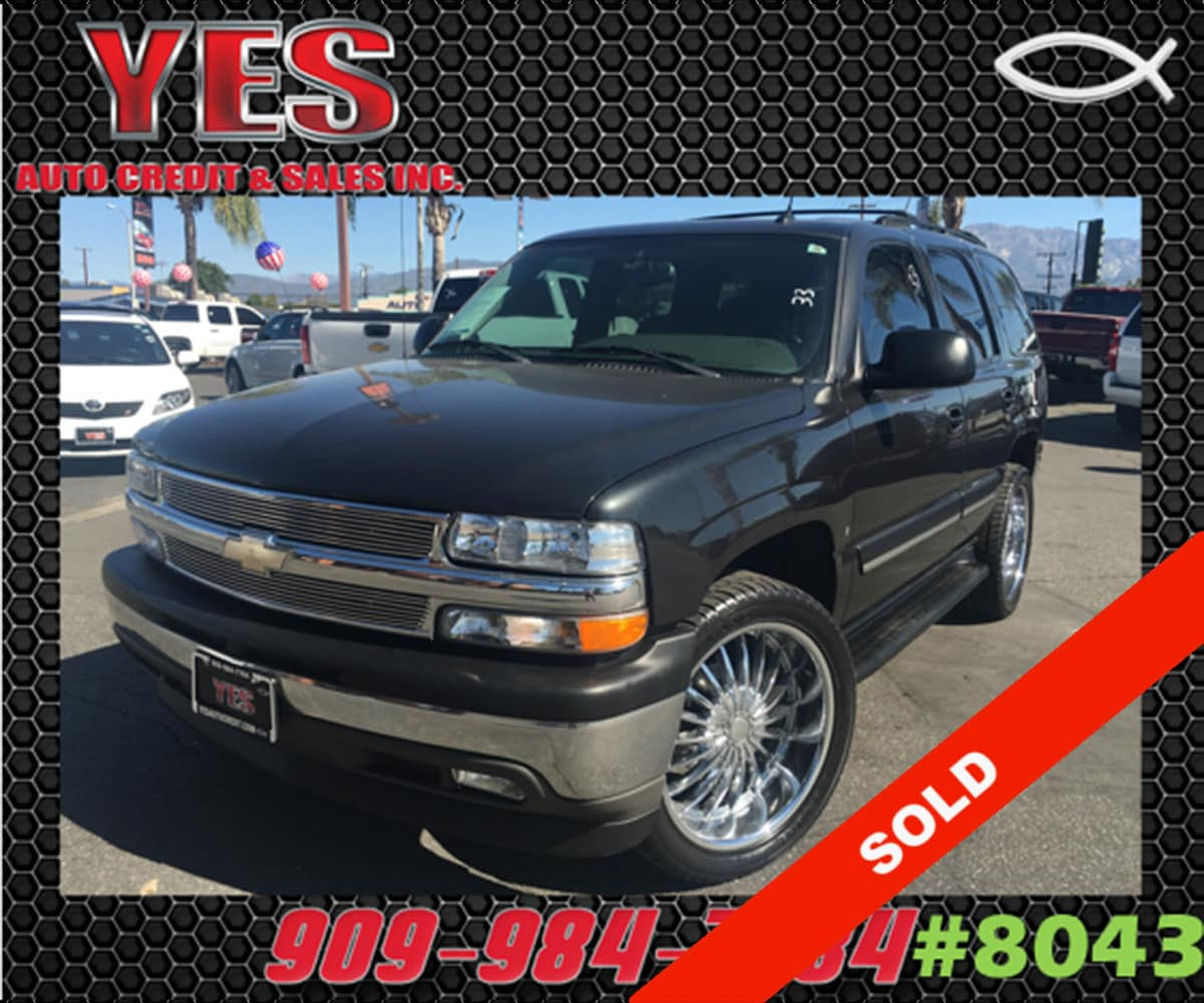 2005 Chevrolet Tahoe LS INTERNET PRICE Price does not include tax license fees accessories a