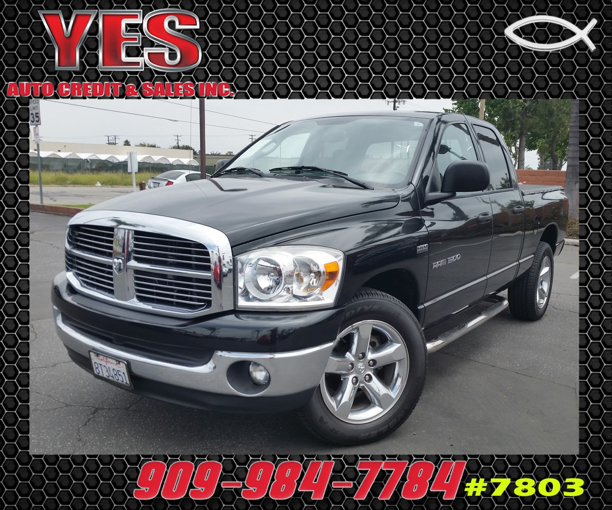 2007 Dodge Ram 1500 SLT MANAGER SPECIALPrice does not include tax licence fees accessories and a