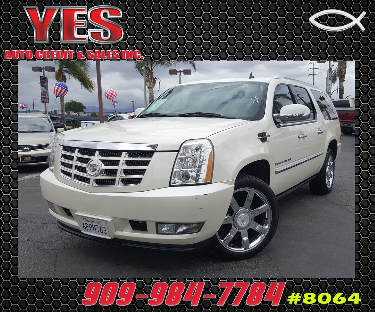 2008 CADILLAC ESCALADE ESV Base INTERNET PRICE Price does not include tax license fees acces