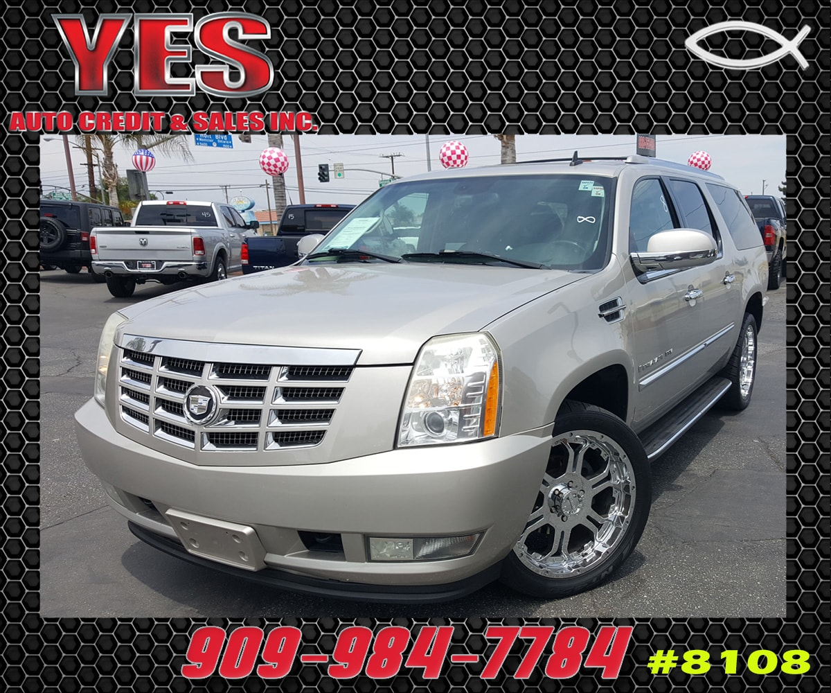 2007 CADILLAC ESCALADE ESV Base INTERNET PRICE Price does not include tax license fees acces