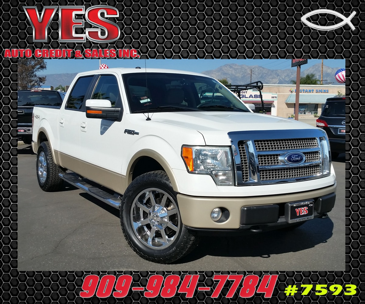2009 Ford F-150 SuperCrew Lariat MANAGER SPECIALPrice does not include tax licence fees accessori