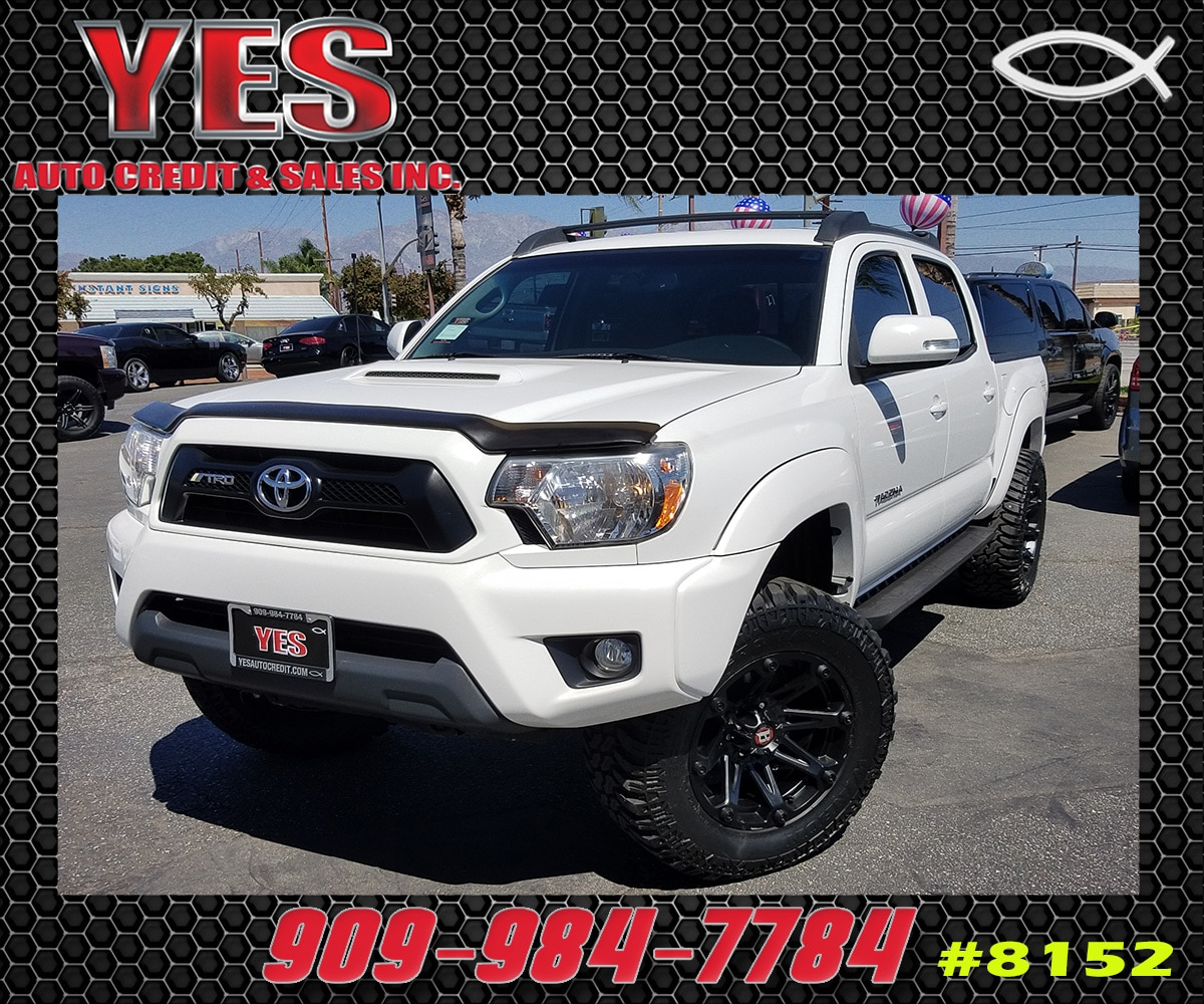 2012 Toyota Tacoma PreRunner V6 Double Cab INTERNET PRICE Price does not include tax license