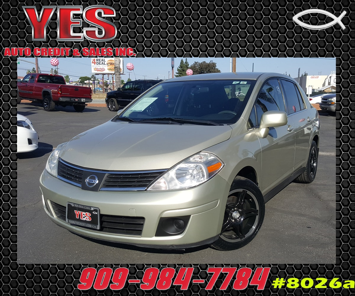 2008 Nissan Versa 18S INTERNET PRICE Price does not include tax license fees accessories an
