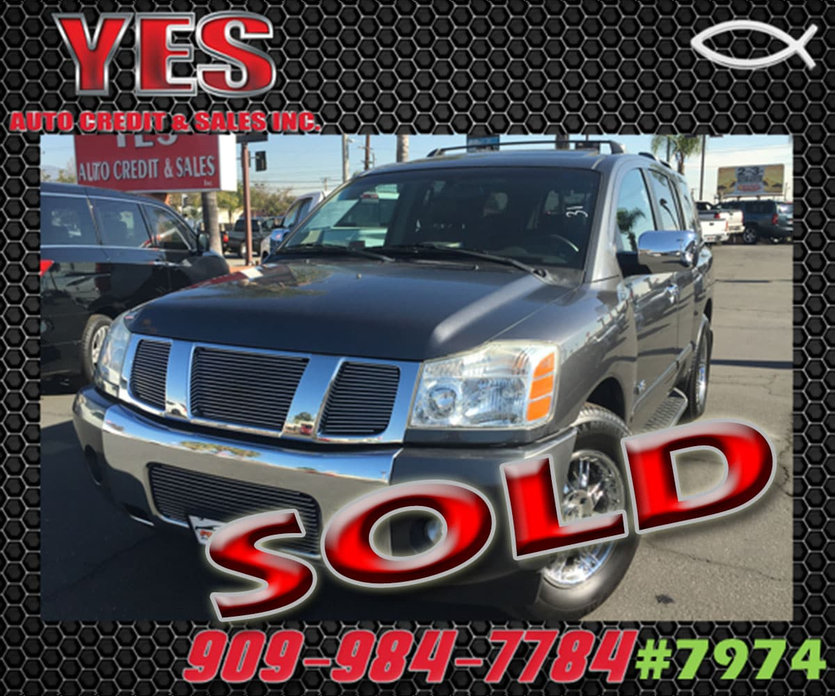 2005 Nissan Armada SE INTERNET PRICE Price does not include tax license fees accessories and