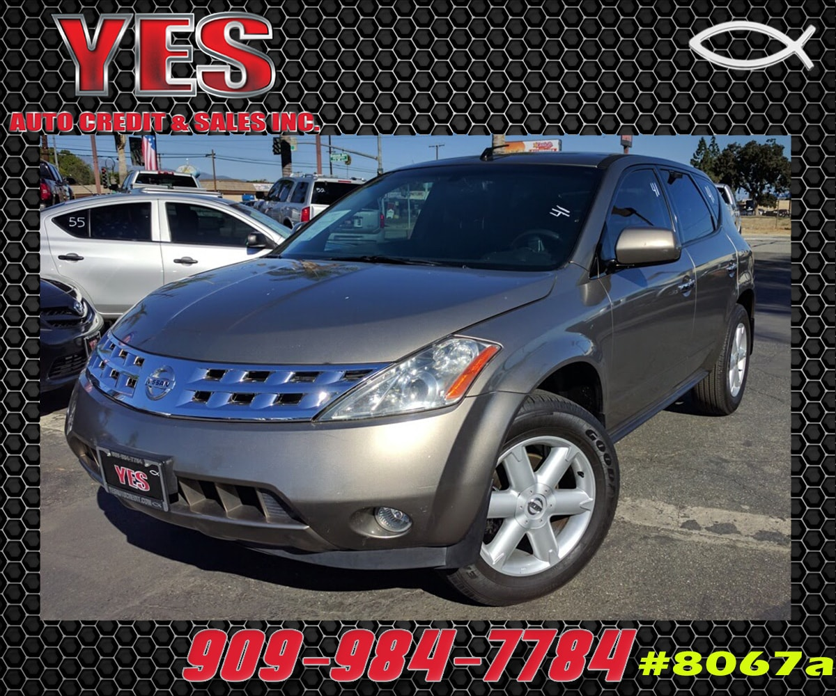 2003 Nissan Murano SE INTERNET PRICE Price does not include tax license fees accessories and