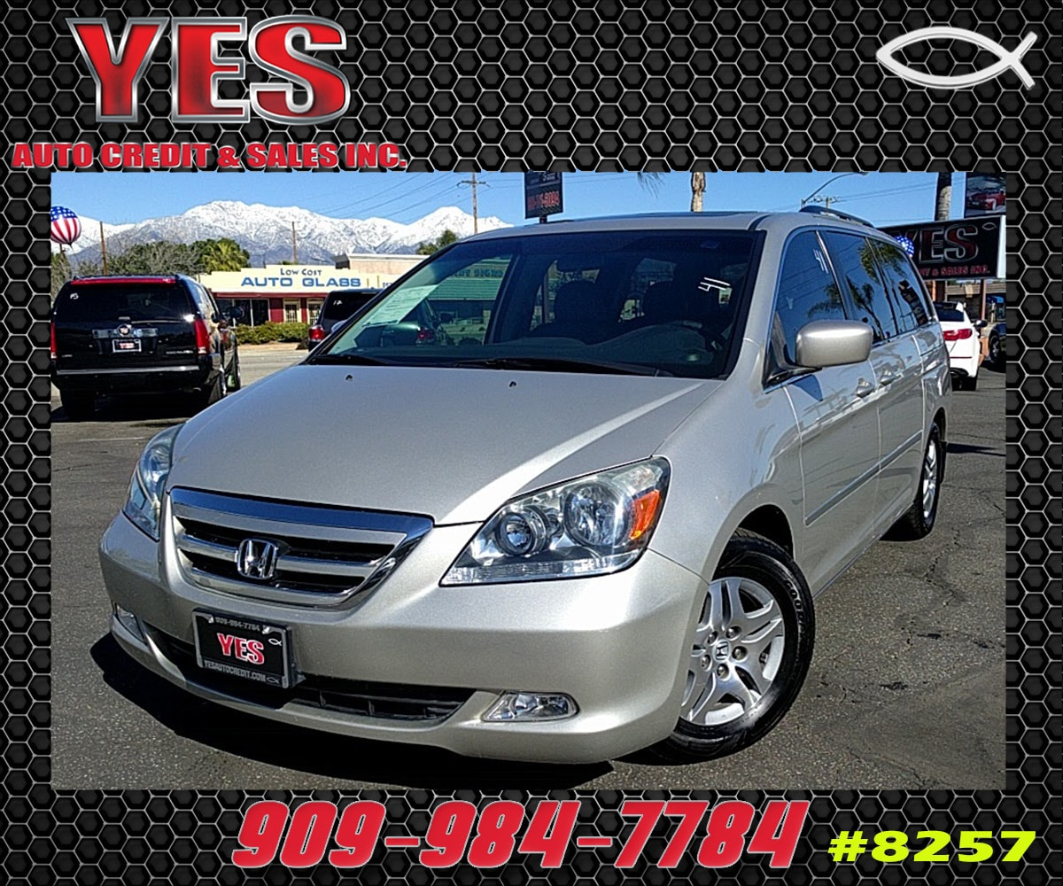 2007 Honda Odyssey INTERNET PRICE Price does not include tax license fees accessories and af