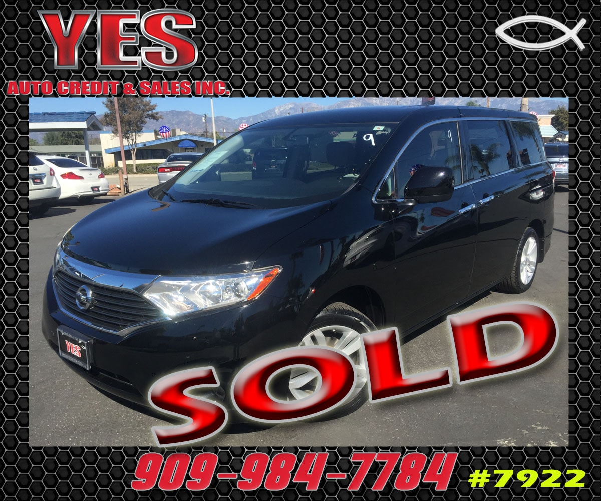 2012 Nissan Quest S INTERNET PRICE Price does not include tax license fees accessories and a