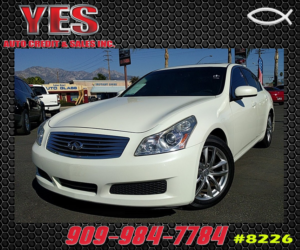 2008 Infiniti G35 INTERNET PRICE Price does not include tax license fees accessories and aft