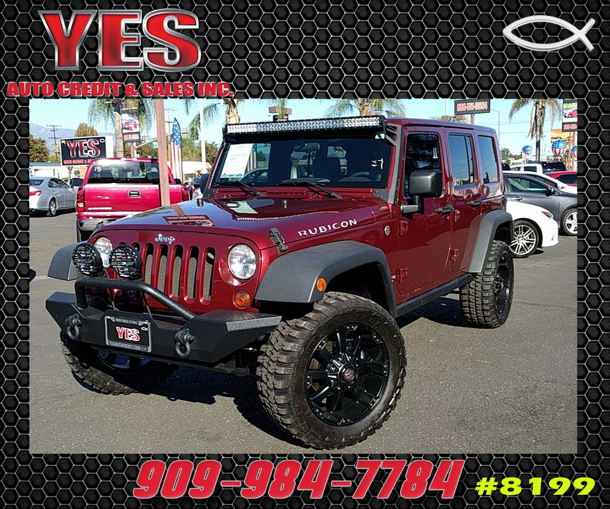 2008 Jeep Wrangler Unlimited Rubicon INTERNET PRICE Price does not include tax license fees