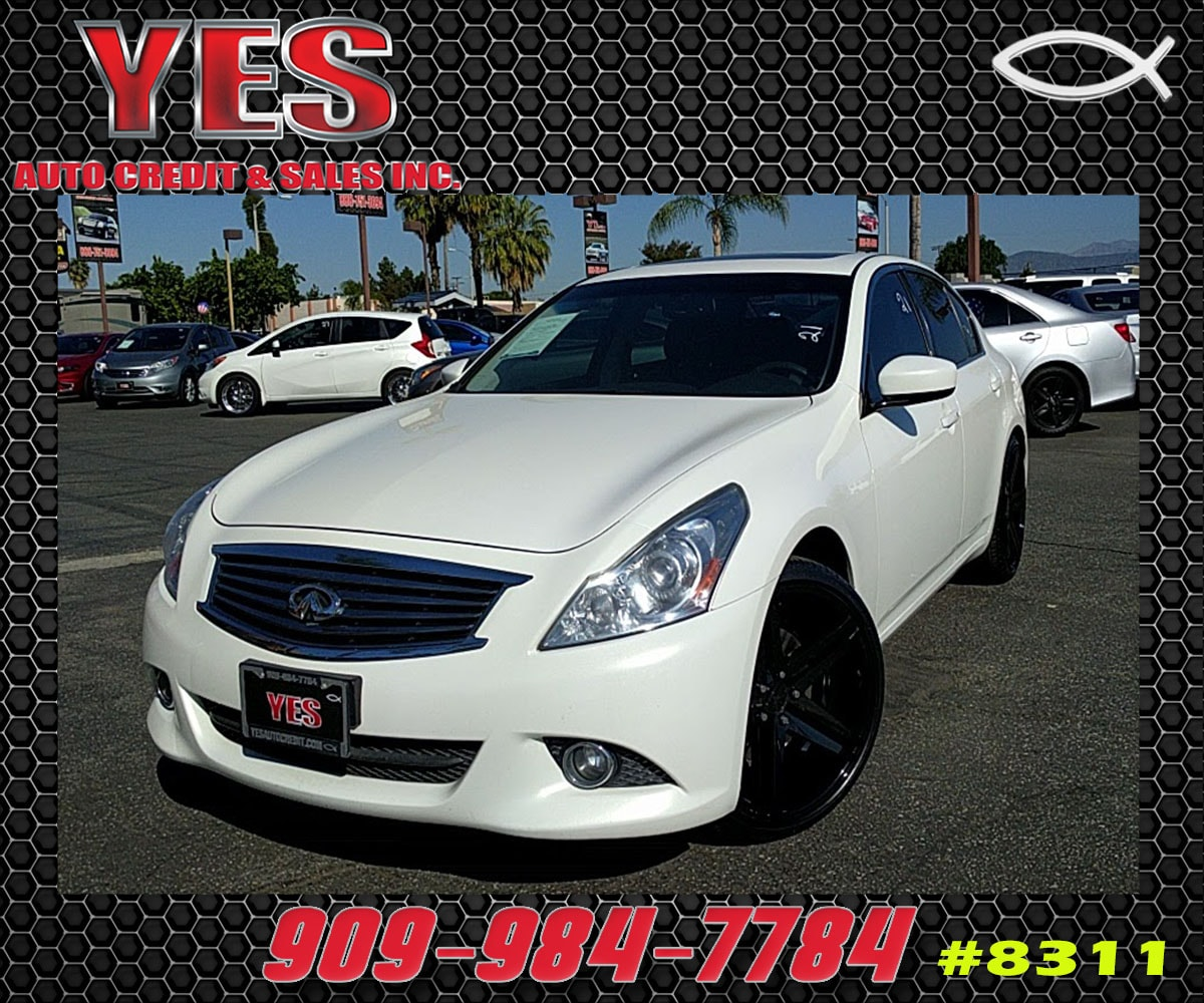 2012 INFINITI G37 INTERNET PRICE Price does not include tax license fees accessories and aft