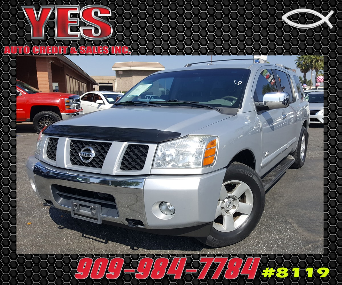 2006 Nissan Armada SE Off-Road INTERNET PRICE Price does not include tax license fees access