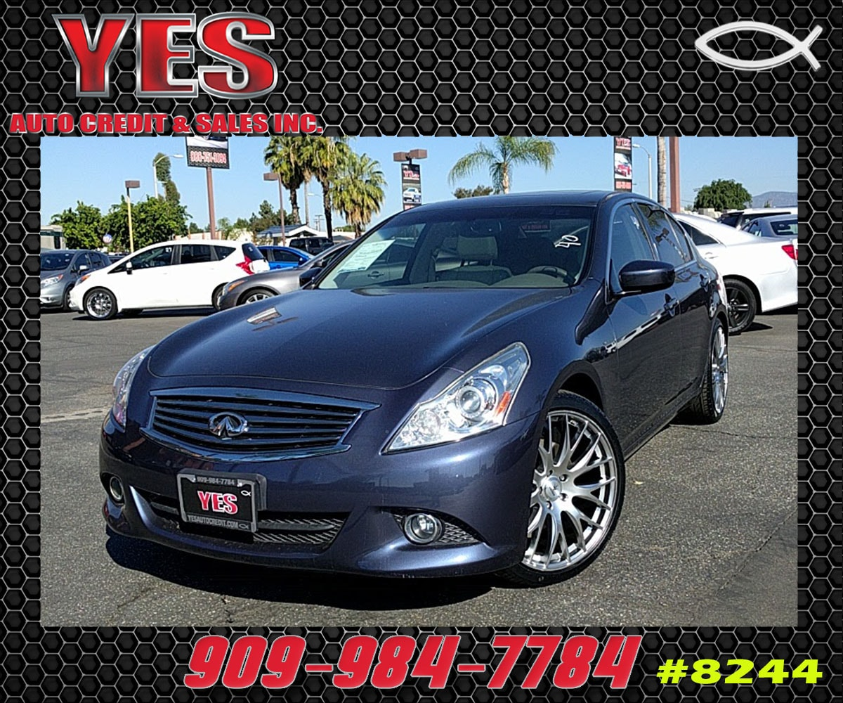 2011 Infiniti G37 INTERNET PRICE Price does not include tax license fees accessories and aft