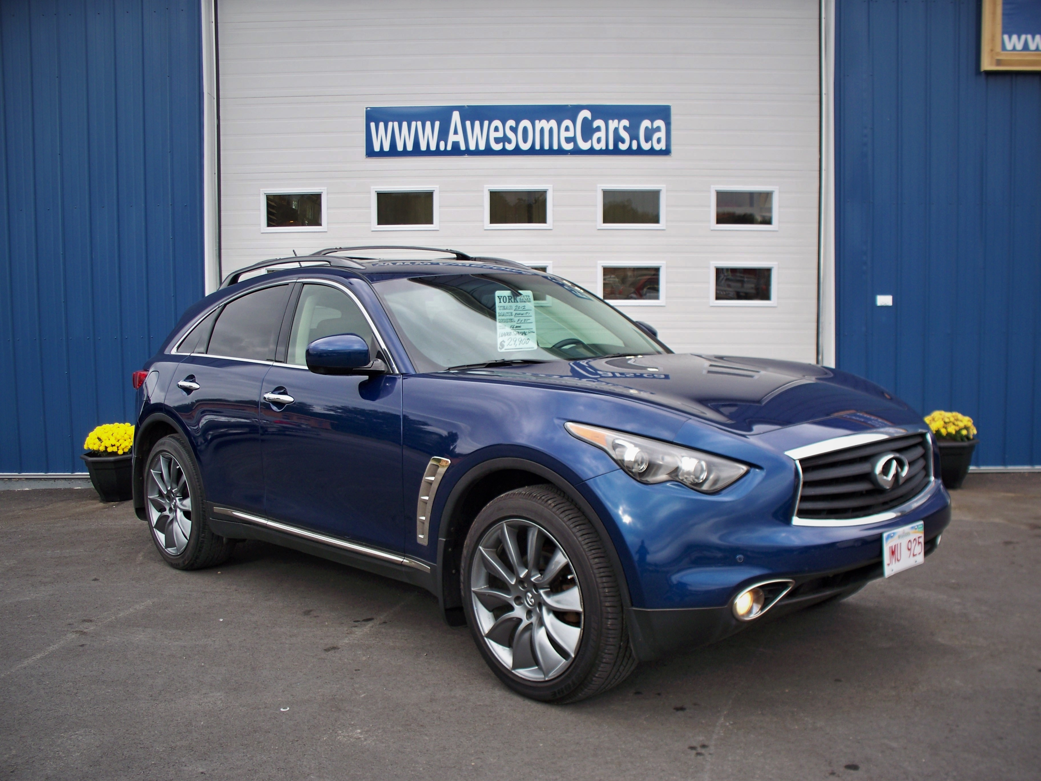 2012 INFINITI Fx35 Limited Edition (A7) (Limited Production) SUV