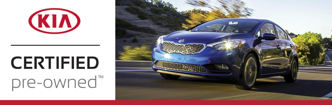 Certified Pre-Owned Kia Forte