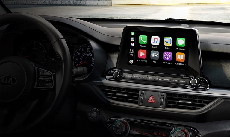 2019 Kia Forte Infotainment Center