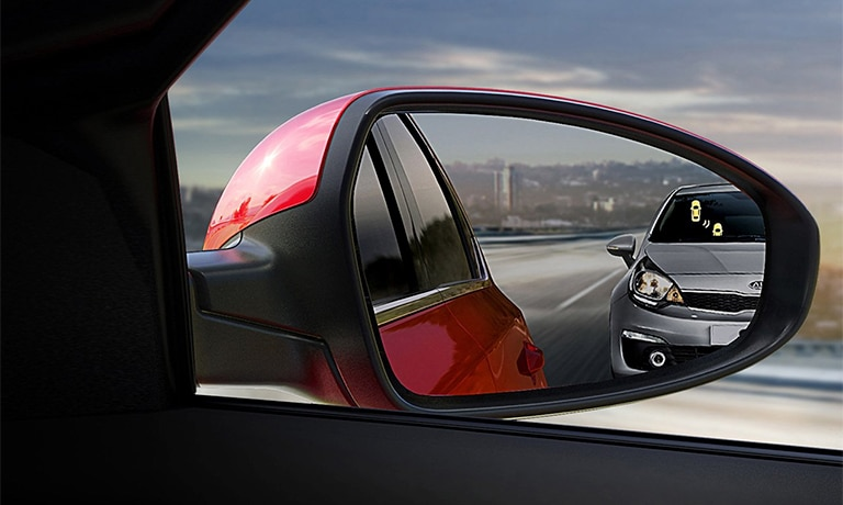2019 Kia Forte rear view mirror blind spot detection