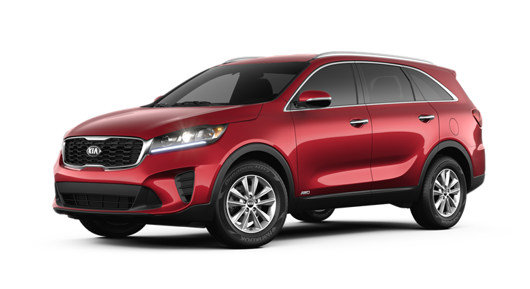 2019 Kia Sorento LX V6 - Passion Red
