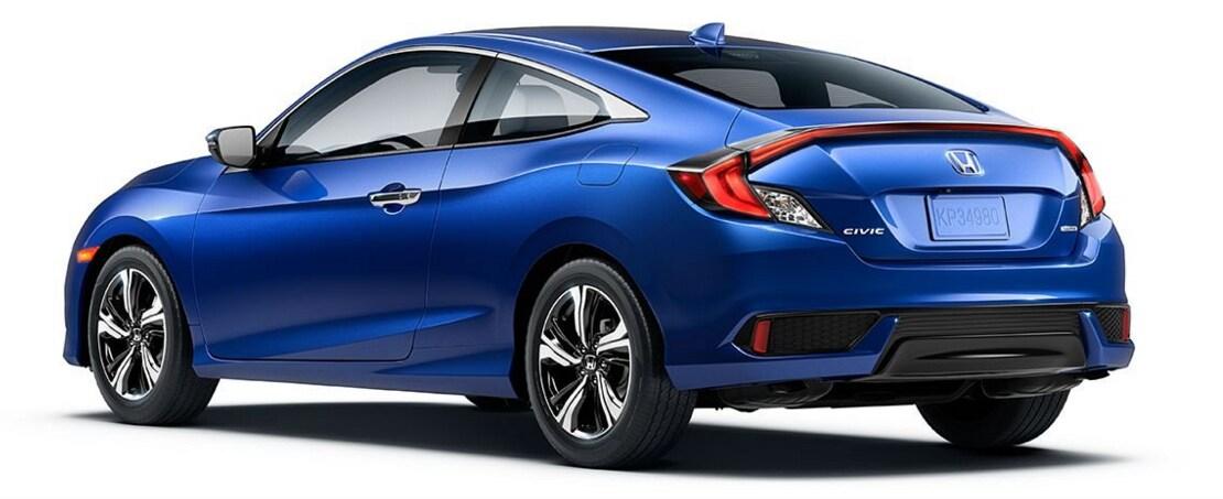 2016 honda civic coupe review and information stockton for Honda dealership stockton