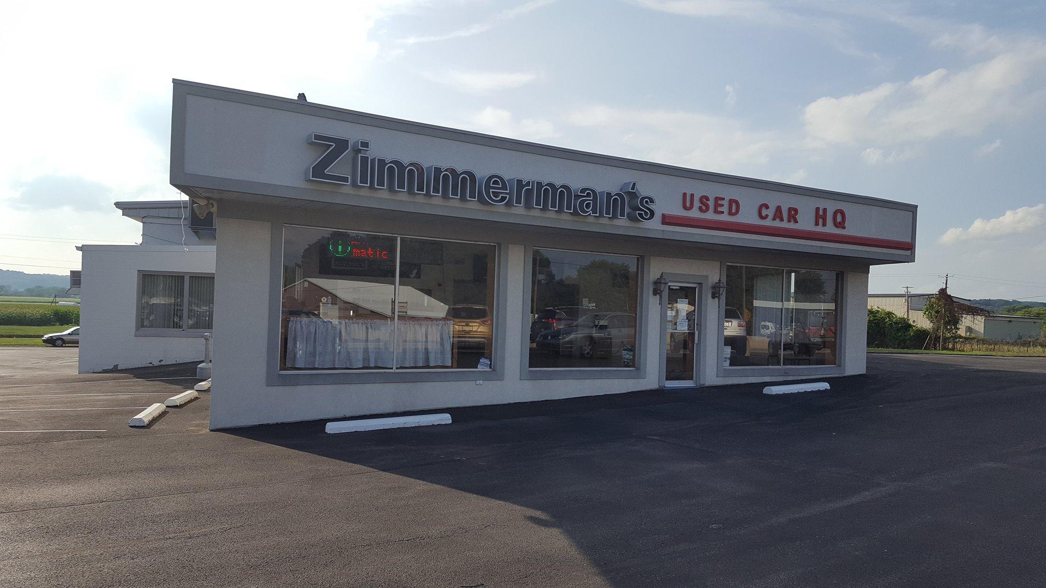 Zimmerman motors new chrysler dodge jeep ram for Sunbury motors sunbury pa