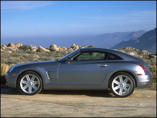 Essais Routier Chrysler Crossfire Doccasion Auto Flash