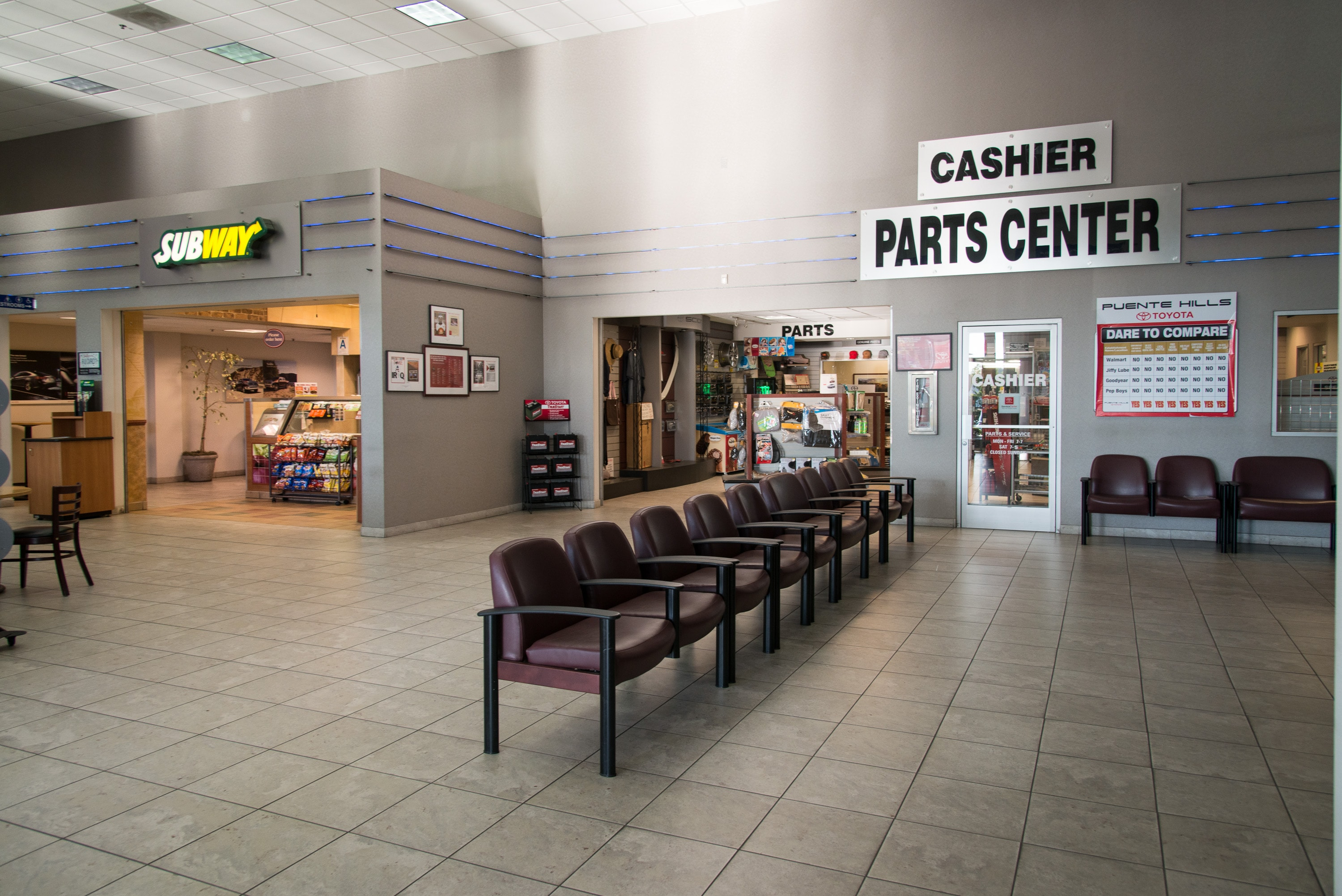 Welcome to the parts center at puente hills toyota