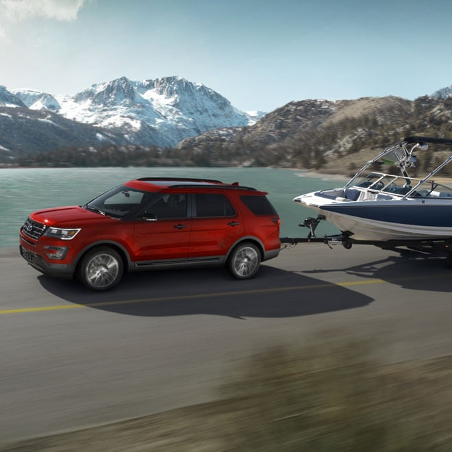 2017 Ford Explorer Performance and Towing