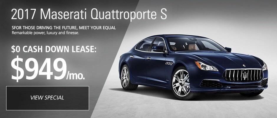 2017 Maserati Quattroporte S Lease