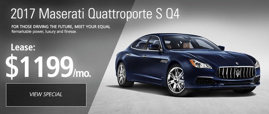 2017 Maserati Quattroporte S Q4 Lease