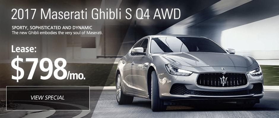 Maserati Ghibli SQ4 lease