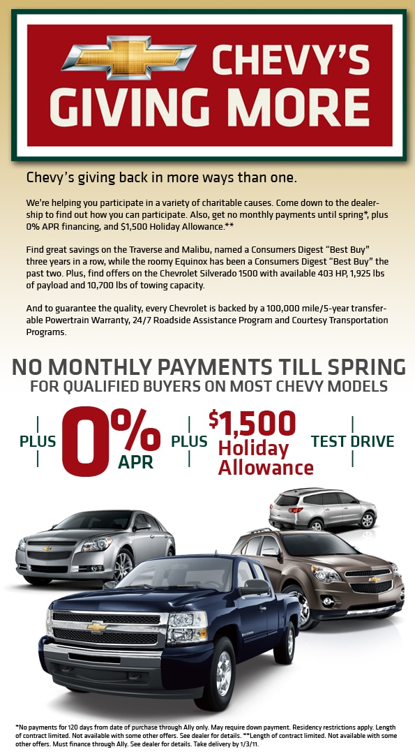 Marvelous Contact. Reliable Chevrolet